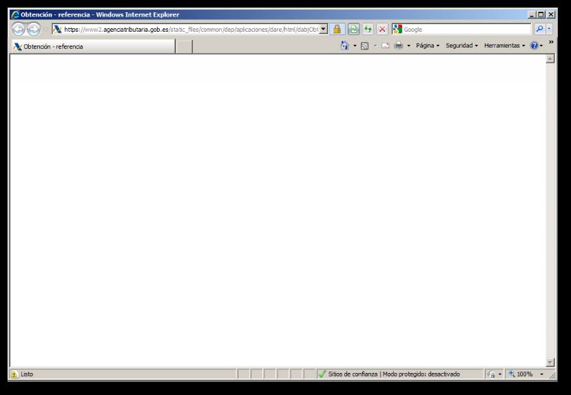 página web blanco duro
