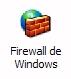 Icono cortafuegos de windows XP