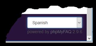 Cambiar idioma a SPANISH