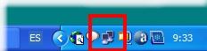 Iconos barra de tareas